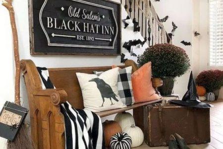 90+ DIY Indoor Halloween Dekor Ideen, um gruselige Stimmung in Ihrem Zuhause zu begrüßen - Hike n Dip