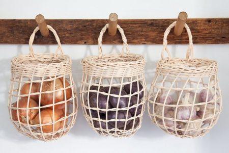 Smart Buy: Entzückende Zwiebelkörbe aus Maine - Das organisierte Zuhause