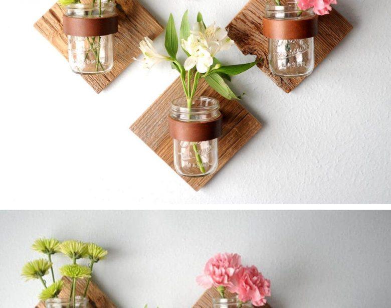 15 Günstige und einfache Einmachglas-Dekor-Projektideen - Craftsonfire