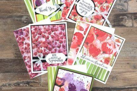 Schöne Grußkarten schnell gemacht, die ein WOW packen!