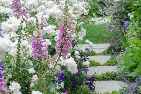 Wie man einen romantischen englischen Garten schafft # einen #englischen #garten # ...