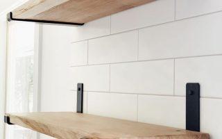 Wie man offene Regale macht - Ein DIY Holzregal Tutorial - allisa jacobs