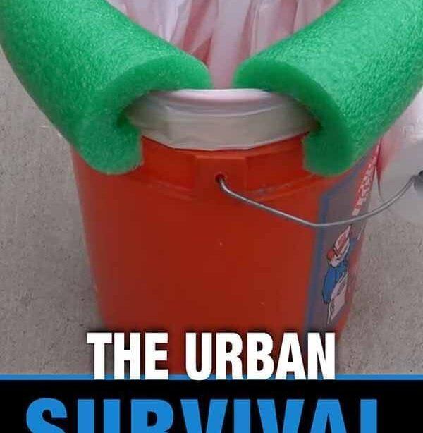 Die städtische Überlebenstoilette   Urban Survival Site