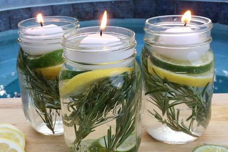 Halten Sie Mücken mit diesem ungiftigen DIY Einmachglas fern