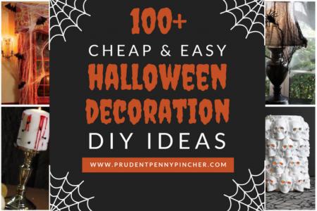 100 Dollar Store Halloween Dekorationen