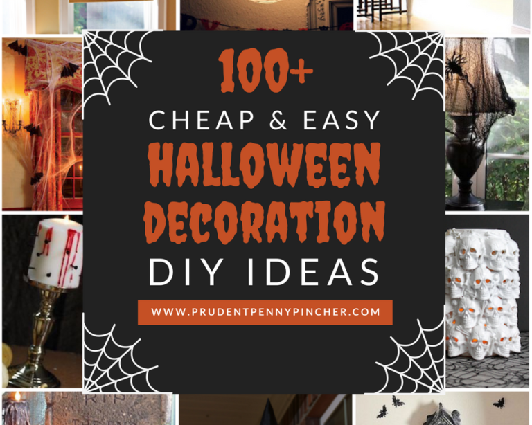 100 Dollar Store Halloween Dekorationen