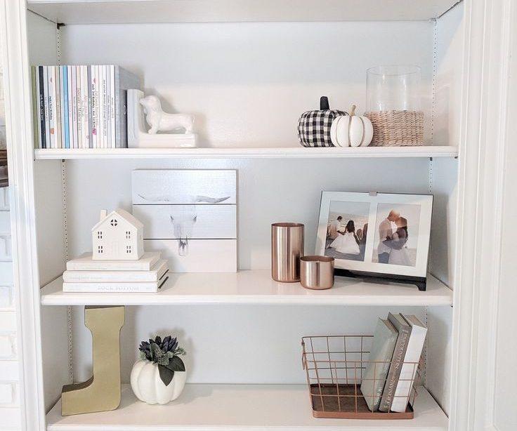 So dekorieren Sie Regale - Bücherregal Regal - Ideen für Bücherregal #ShelfBookca ......