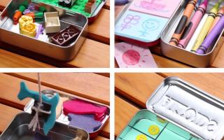 Diese tragbaren DIY-Spielsets halten Ihre Kinder in jeder Situation beschäftigt