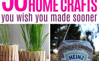 Über 90 recycelte Projekte, die Ihr zu Hause haben sich gehört - UPCYCLING IDEEN - Katie
