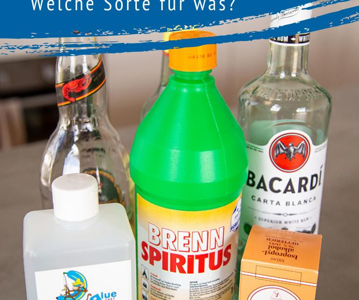 Welcher Alkohol heißt? - Der richtige Alkohol für Hausmittel und Kosmetik