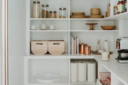 Tolle Pantry-Ideen mit Kühlschrank - Tolle Pantry-Ideen mit Kühlschrank ...