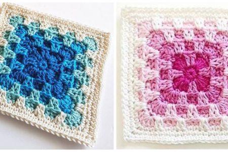 Solid Square & Blanket - Komplettes Muster - Design Peak