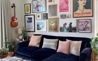 So erstellen Sie eine Galeriewand für Ihr Zuhause - Melanie Jade Design