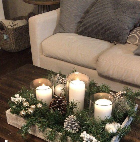 100 DIY Weihnachtsmittelstücke, mit denen Sie Ihr Zuhause für die Weihnachtszeit gerne dekorieren - Hike n Dip