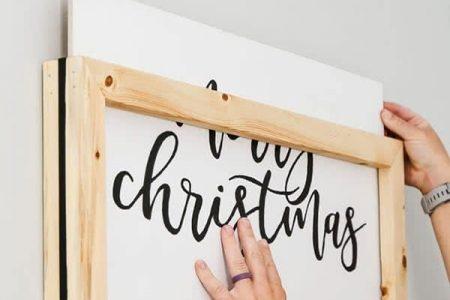 DIY Easy Change Rahmen für Holzschilder für Ihr Zuhause