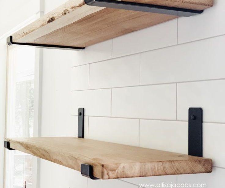 Wie man offene Regale macht Ein DIY Holzregal Tutorial Wie man offene Regale macht ...