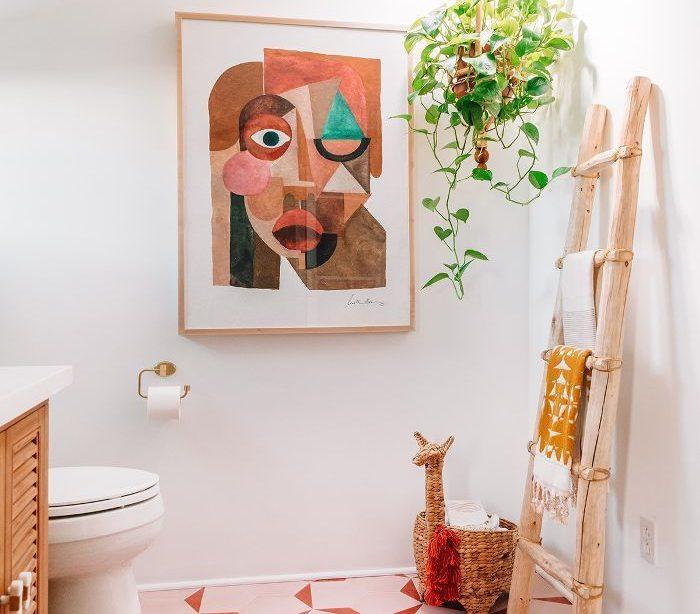 Bereiten Sie Ihre Netzhaut vor - diese auffällige Renovierung des Master-Badezimmers ist atemberaubend