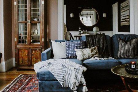 # Ideen für die Gestaltung von Wohnräumen #Draps Wohnzimmer # Inspiration für Wohnräume #Moderne ...