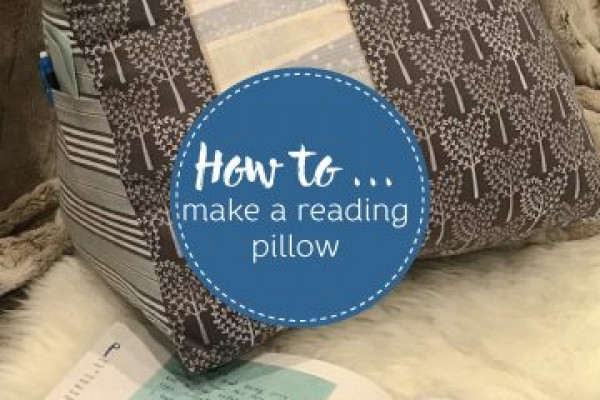 Wie man ein Lesekissen macht