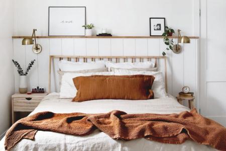 Einfaches modernes Schlafzimmer - Valentinstag Blog