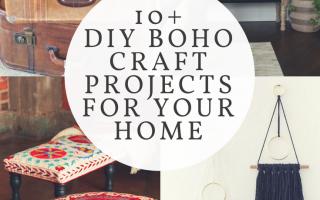 Boho Dekor mit kleinem Budget: 10+ Ideen für Ihr Zuhause