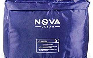 Nova Clean UV-C Sterlizer / Desinfektionsmittel / Sterlisations- und Desinfektionsbox. Tötet 99% Viren, Bakterien und Pilze ab, ideal für Bargeld, Mobiltelefone, Kopfhörer, Bücher, Masken, Schlüssel, Lebensmittel, Obst, Gemüse, verpackte Lebensmittel, Milchpakete, usw. in nur 2 bis 8 Minuten. Ideal für große Gegenstände wie Laptop, Handtasche, Helm usw.