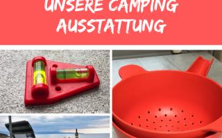 Praktische Camper-Ausstattung