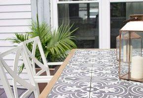 DIY Fliesen Tischplatte - Ich suche Lavender Lane