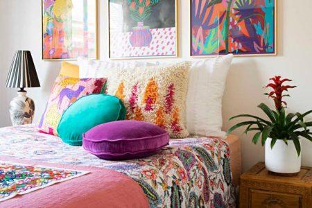 Dieses mit Pflanzen gefüllte, farbenfrohe australische Haus ist die Definition des böhmischen Maximalisten