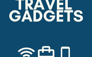 26 Reise-Gadgets und Ausrüstung müssen vorhanden sein