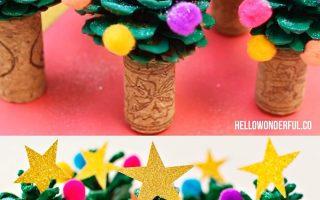 Tannenzapfen Weihnachtsbaum Handwerk