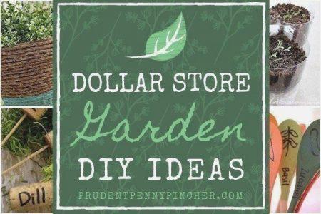 New Diy Garden Decor Dollar Stores Projekte Gartenprojekte 100 Dollar Store Gar ...