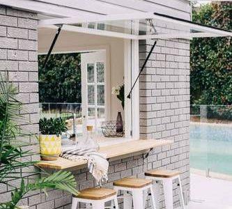 Ideen für die Behandlung von Küchenfenstern für jeden Stil und Raum