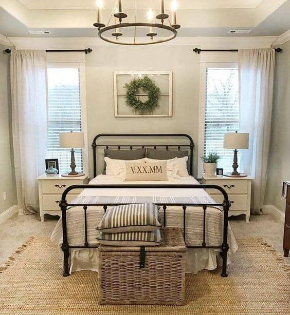 23 Bauernhaus Schlafzimmer Ideen in