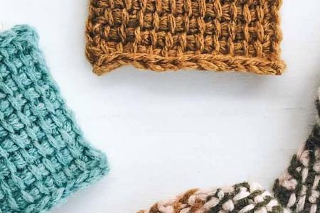 Einführung in Tunesian Crochet - für Anfänger!