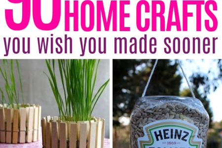 Über 90 recycelte Projekte, die Ihr Zuhause tatsächlich verändern