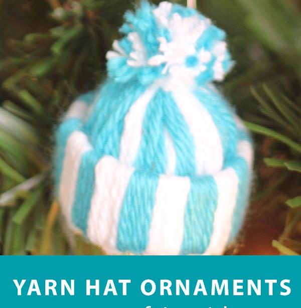 Garn Hut Ornament Easy Craft