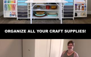 Verwandle deinen Bastelraum | Möbel