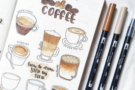 Über 200 Doodle-Ideen zum Ausprobieren in Ihrem Bullet Journal - TheFab20s