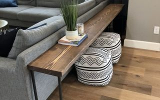 DIY Sofa Tisch - Brooklyn Nicole Homes Wohnkultur #homedecordiy - Wohnkultur diy