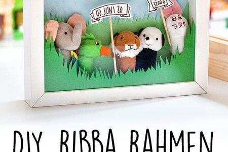 RIBBA Rahmen als Geschenk zur Geburt