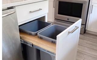10 neue Ideen für die Organisation von Küchen und Schränken