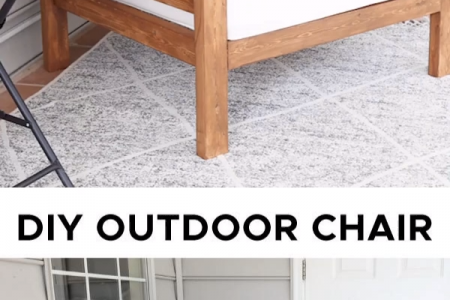 DIY Outdoor Stuhl - Angela Marie Made