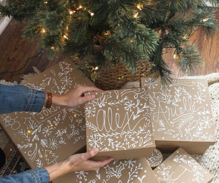 Gehört schön verpacken mit Kraftpapier | MrsBerry Familien-Reiseblog | Über das Leben u