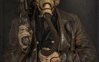 Ich fertige Steampunk-Kostüme aus alten Teilen für Filme von Hand