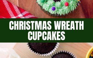 Weihnachtskranz Cupcakes