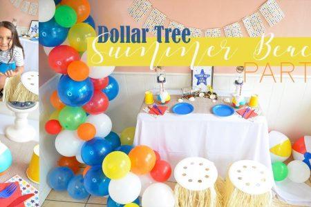 Summer Beach Pool Party Dekor Ideen - Dollar Baum DIY Diy Home Decor, Diy ...