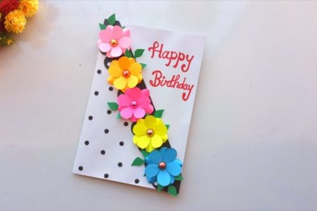 Schöne handgemachte Geburtstagskarte Idee -DIY GREETING Karten Diy Home Decor, Di ...