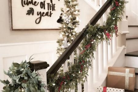 Die beste Bauernhaus-Weihnachtsdekor-Inspiration | Zuhause Sweet Farm Home