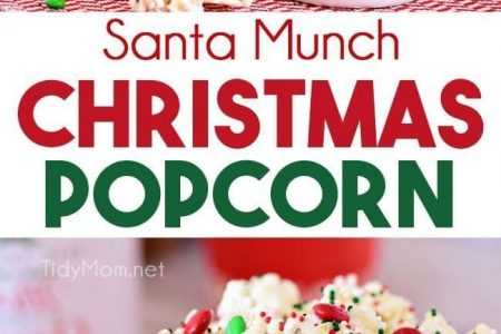 Santa Munch Weihnachtspopcorn